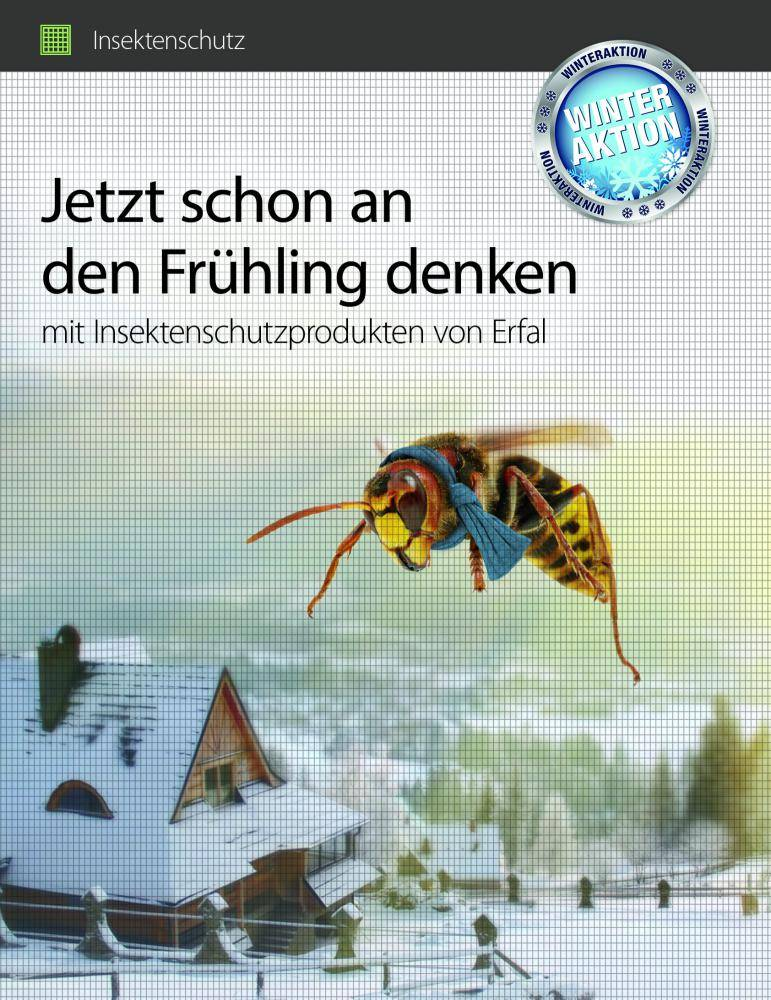 Insektenschutz Winteraktion 2017